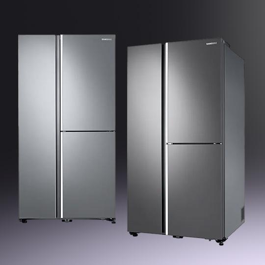 필요한 곳만 연다! 4도어 푸드쇼케이스 냉장고