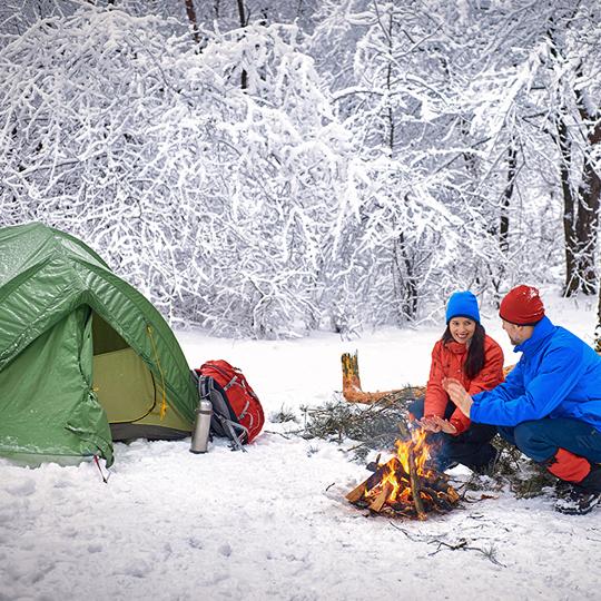 겨울캠핑 매력에 빠져볼까?