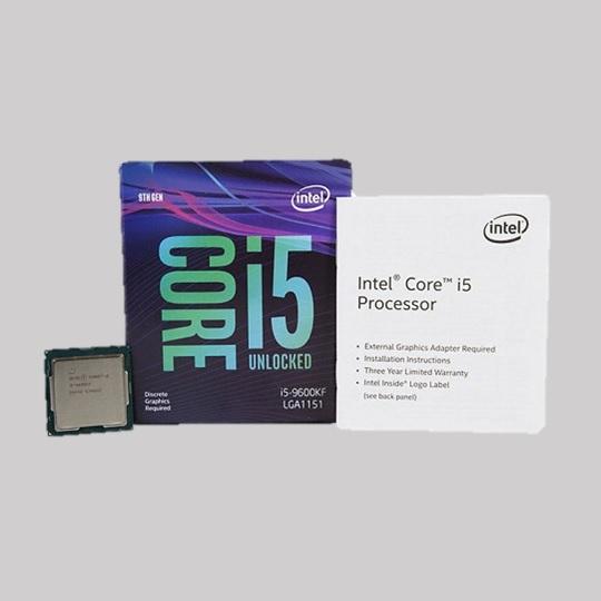인텔 코어 i5-9600KF 프로세서(커피-R)