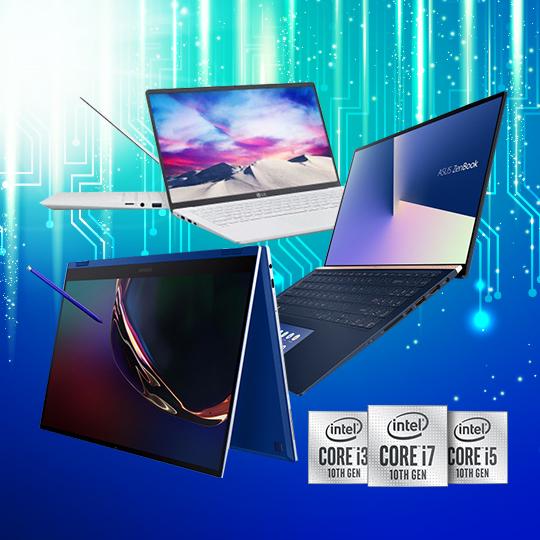 인텔 10세대 노트북 시대 개막!