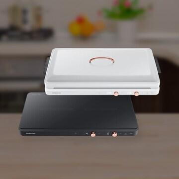 테이블이 키친이 되다! 삼성 인덕션 더 플레이트