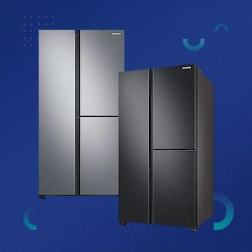 3도어 푸드쇼케이스 VS 매직스페이스 냉장고