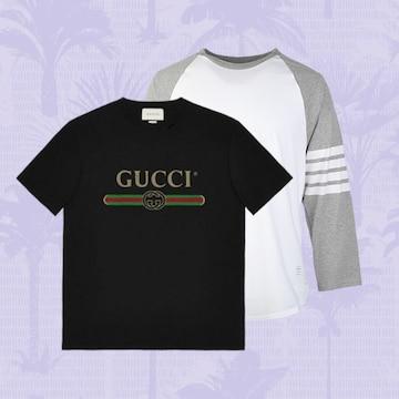 명품 티셔츠로 여름 코디 포인트 주기!
