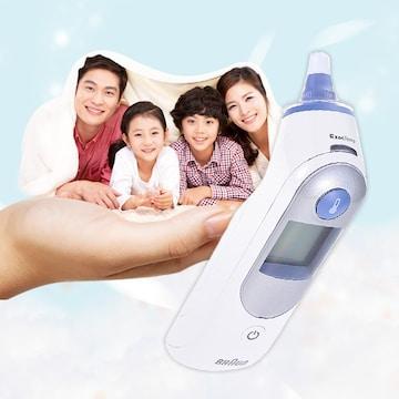 가족을 위한 생활필수품! 브라운 체온계 인포그래픽