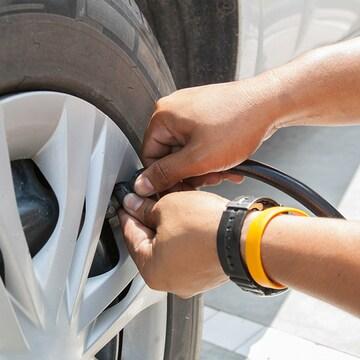 타이어 자가정비 도우미 차량용 에어컴프레서