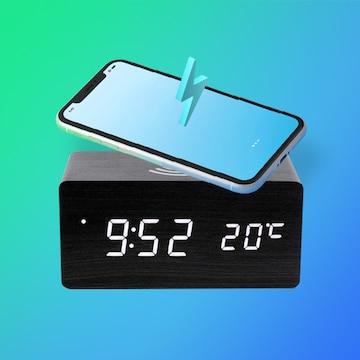 휴대폰 충전이 가능한  탁상시계!