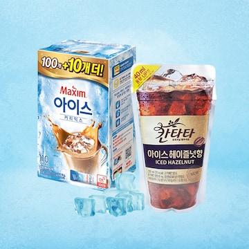 더워지는 날씨 저격 아이스 커피 모음전