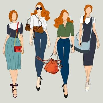 한방에 정리하는 여성 가방의 종류