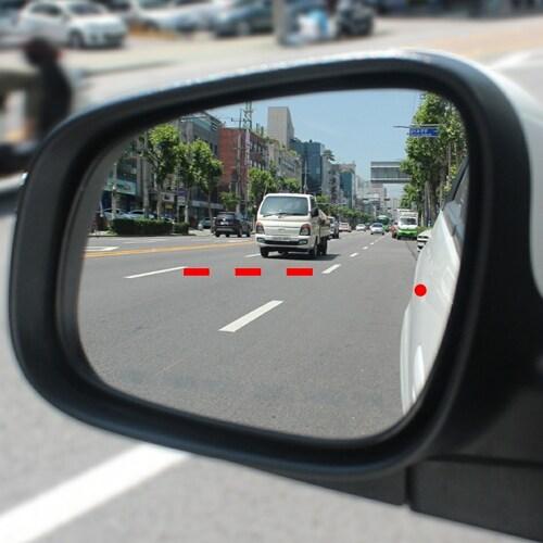 재미난 드루감 차선변경 도우미 스티커 현대자동차