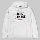 칼하트 칼하트WIP Hooded Doin Damage Sweatshirt (화이트)_이미지
