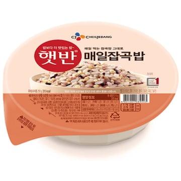 CJ제일제당 햇반 매일잡곡밥 210g