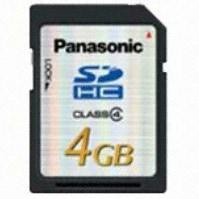 파나소닉 SDHC CLASS4 (4GB)_이미지