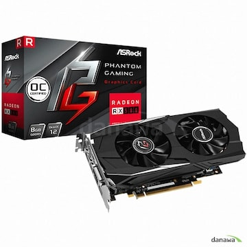 ASRock Phantom Gaming D 라데온 RX 580 OC D5 8GB 에즈윈