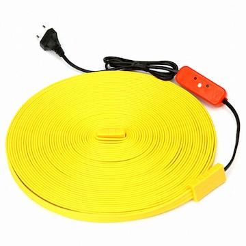우주전열  동파방지기 노란열선 센서형 (3m)
