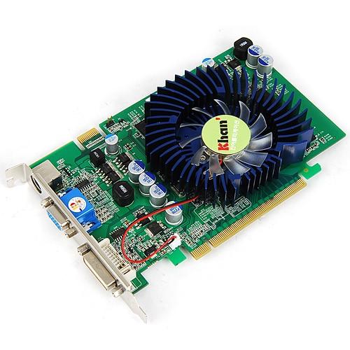 KHAN 지포스 8600GT 칸 DDR2 256MB_이미지