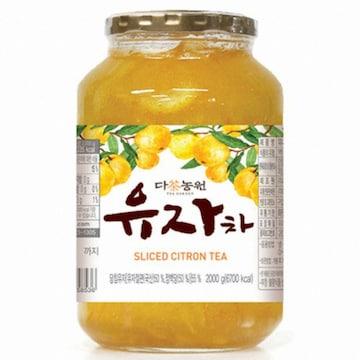 다농원 유자차 2kg(1개)