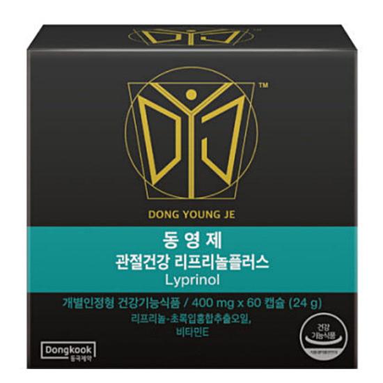 동국제약 동영제 리프리놀 플러스 60캡슐(1개)