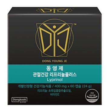 동국제약 네이처스비타민샵 리프리놀 플러스 60캡슐(1개)