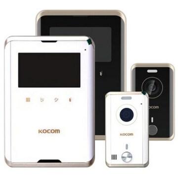 코콤 KCV-R431E + 현관카메라