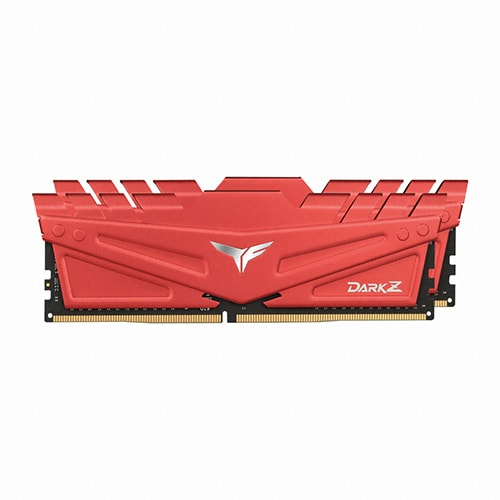 TeamGroup T-Force DDR4-3200 CL16 DARK Z RED 패키지 (16GB(8Gx2))