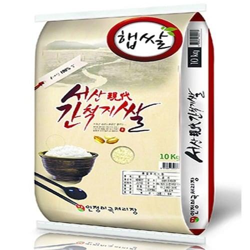 인정미곡처리장 서산 간척지쌀 10kg (18년 햅쌀) (1개)_이미지