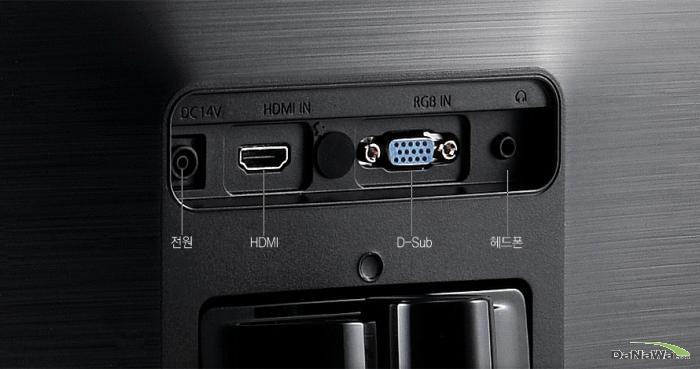 삼성전자 싱크마스터 S23C340H HDMI / D-Sub 단자