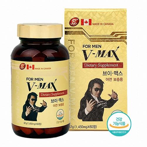 브이맥스 브이-맥스 아연 보충용 60정 (1개)