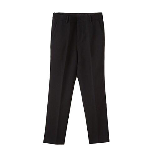 코오롱인더스트리 커스텀멜로우 pipe detail tapered pants CLPAW16011BKX_이미지
