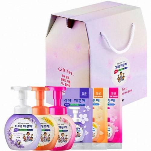 CJ라이온 아이깨끗해 플라워에디션 선물세트(2세트)