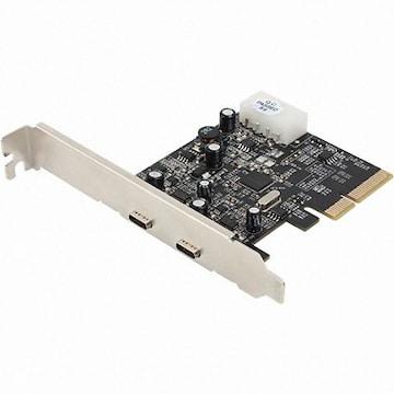 강원전자 NETmate 2포트 USB 3.1 Type C PCIe 카드 (U-1430)