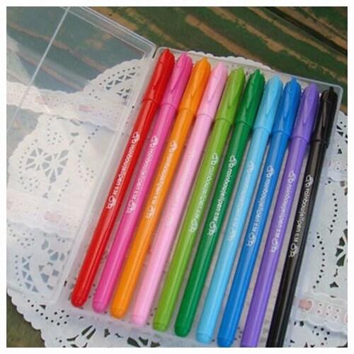 디자인소머즈  Rainbow jellpen 0.38mm 세트 (10색)_이미지