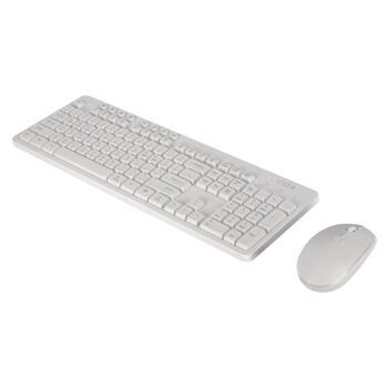 COX CKM30W 무선 키보드, 마우스 세트 (화이트)