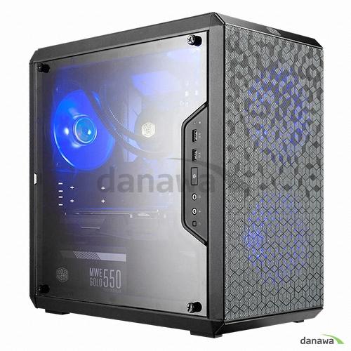 쿨러마스터 MASTERBOX Q300L USB 3.0 풀 아크릴 윈도우