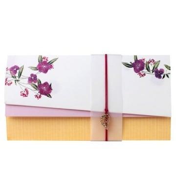 솜씨카드 자주빛 꽃잔디 축하봉투 035-ME-0041