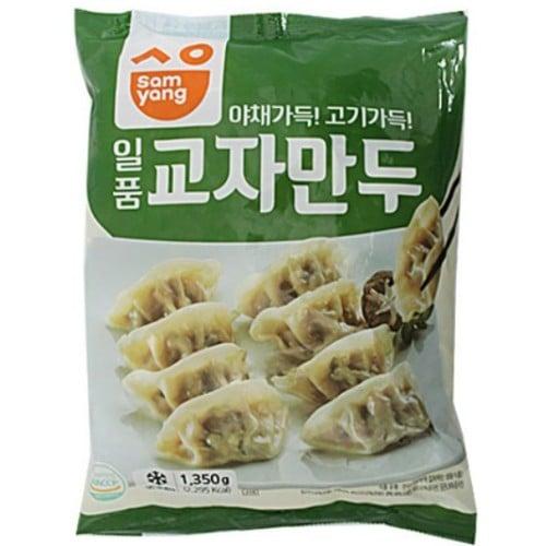 삼양새아침 모닝하임 일품 교자만두 1.35kg (1개)_이미지