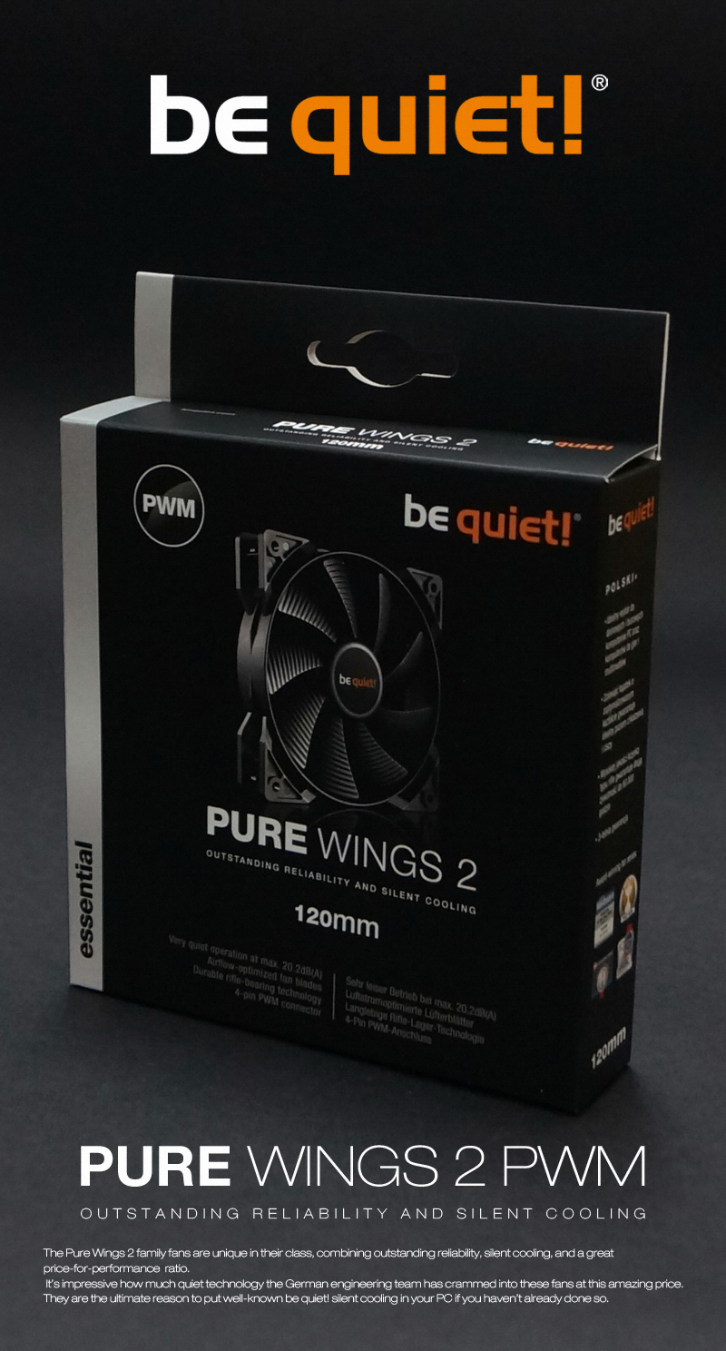 be quiet PURE WINGS 2 PWM (120mm)
