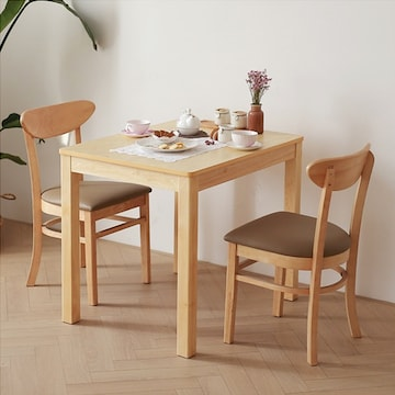 까미노  원목 식탁세트 850  CM002 (의자2개)
