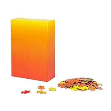 AREAWARE Gradient Puzzle Small Bryce WILNER Red/Yellow_이미지