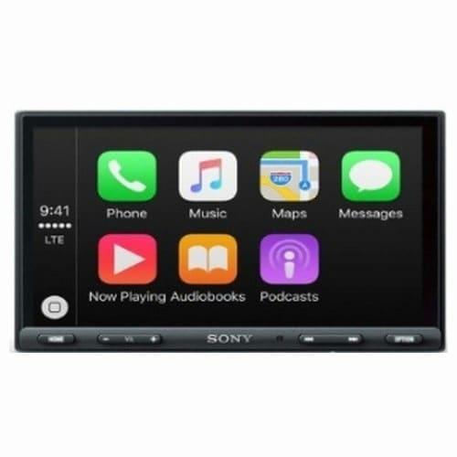 SONY 카오디오 XAV-AX5000 + 파이오니아 스피커 TS-Z65CH_이미지