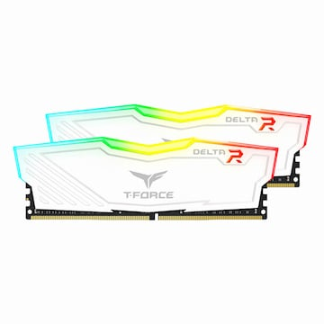 TeamGroup T-Force DDR4 8G PC4-19200 CL15 Delta RGB 화이트 (4Gx2)