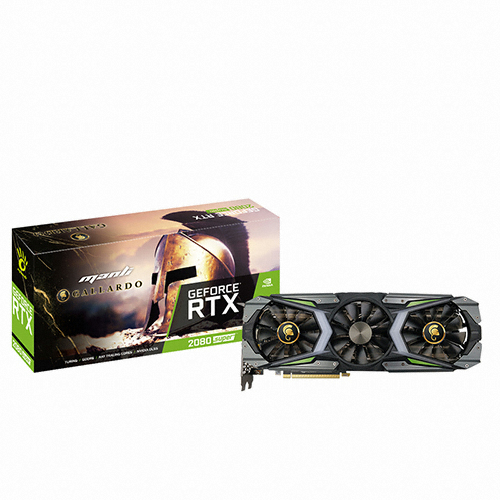 MANLI 지포스 RTX 2080 SUPER Gallardo Custom D6 8GB