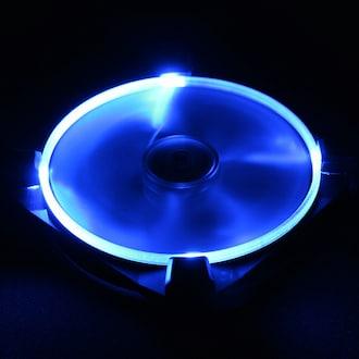 Antec TrueQuiet UFO 120mm 블랙 진동 패드 (Blue)_이미지