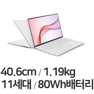 LG전자 2021 그램16 16Z90P-GA50K (SSD 256GB)_이미지
