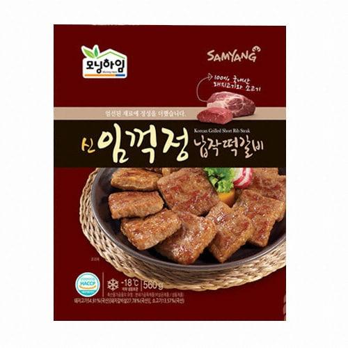 삼양냉동 모닝하임 신 임꺽정 납작떡갈비 560g (4개)_이미지