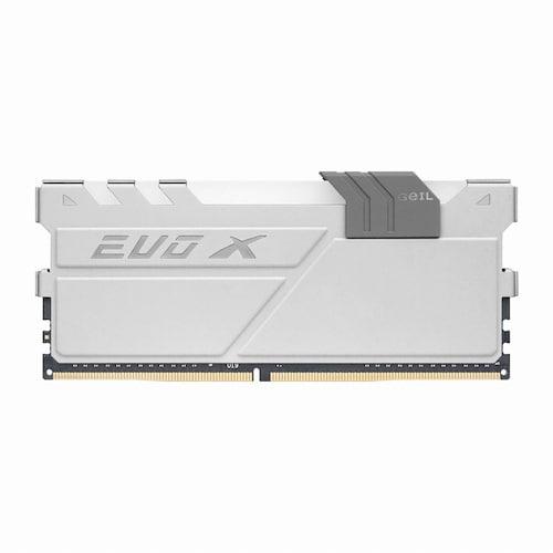 GeIL  DDR4 8G PC4-19200 CL17 EVO-X 화이트 GREY RGB_이미지