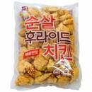 순살 후라이드 치킨 매콤한맛 1kg