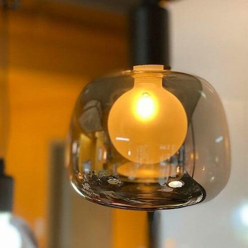 룩스램 LED G150 버블 사각원형 에디슨전구 전구색 2W_이미지