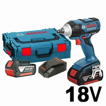 보쉬  GDS 18V-EC 250 Professional (5.0Ah, 배터리 2개)