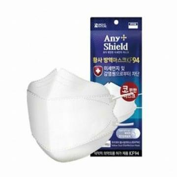 아보브네이처 애니쉴드 황사 방역마스크 화이트 KF94 대형 (1개입)(1개)