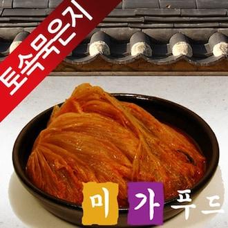 미가푸드 햇섭 3개월 묵은 썰은 김치 10kg (1개)_이미지